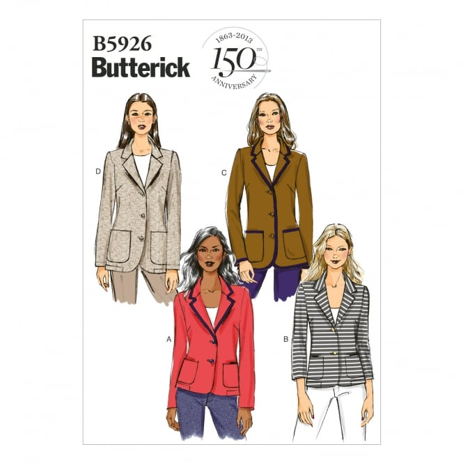 Butterick Sewing Pattern 5926 F5 Size 16 - 24