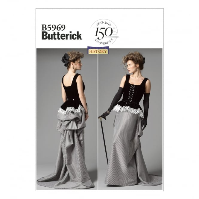 Butterick Sewing Pattern 5969 E5 Size 14 - 22