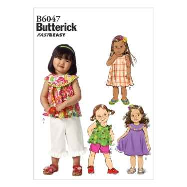 Butterick Sewing Pattern 6047 All Sizes