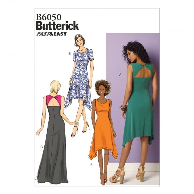 Butterick Sewing Pattern 6050 Size 6-14