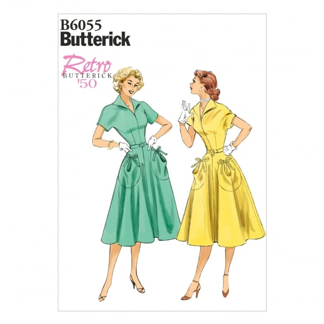 Butterick Sewing Pattern 6055 E5 Size 14 - 22