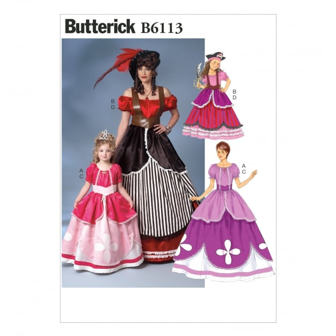 Butterick Sewing Pattern 6113 MIS Size S - XL