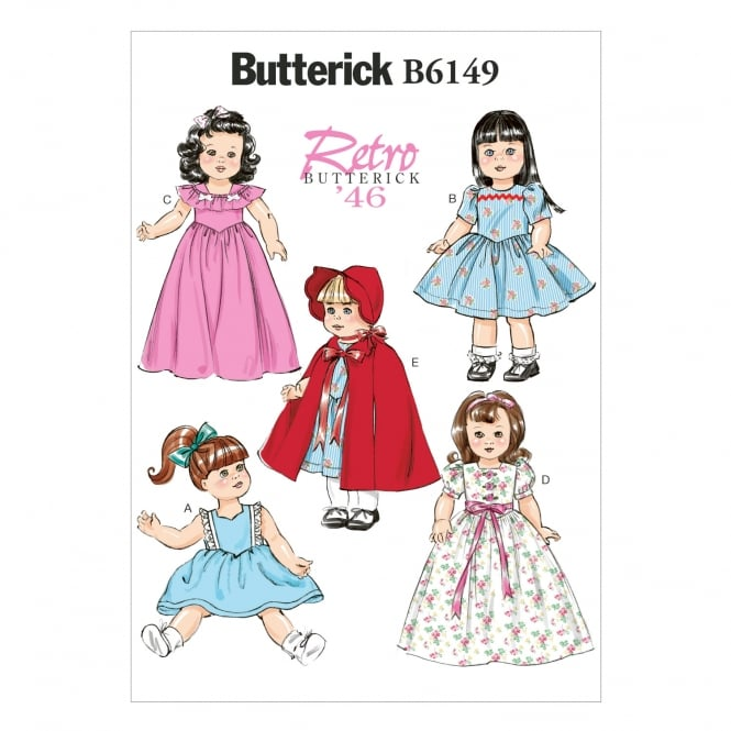 Butterick Sewing Pattern 6149 One Size