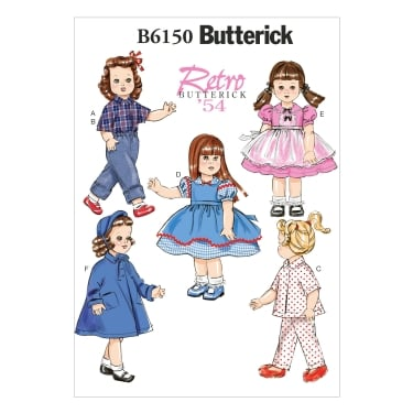 Butterick Sewing Pattern 6150 One Size