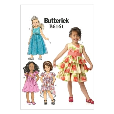 Butterick Sewing Pattern 6161 Size 2 - 5 years