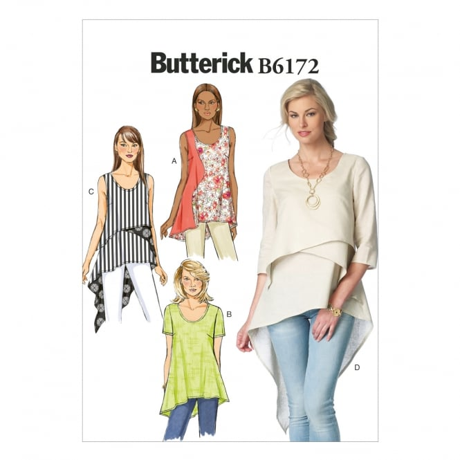 Butterick Sewing Pattern 6172 Size 6 - 14