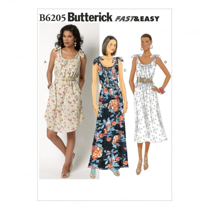 Butterick Sewing Pattern 6205 Size XS-M