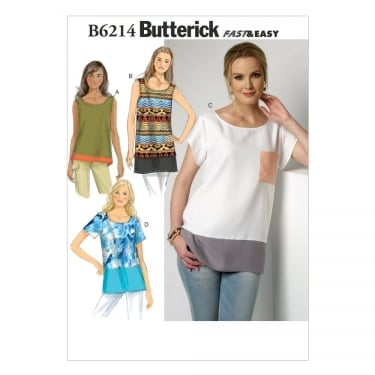Butterick Sewing Pattern 6214