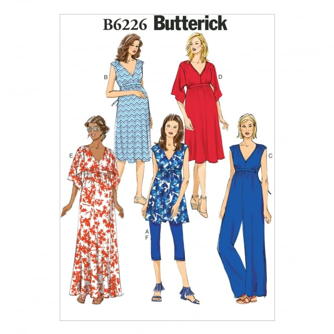Butterick Sewing Pattern 6226 Size 6 - 14