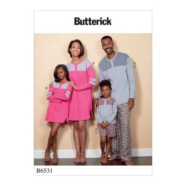 Butterick Sewing Pattern 6531 All Sizes