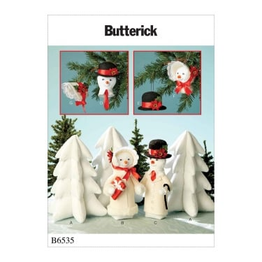 Butterick Sewing Pattern 6535 One Size