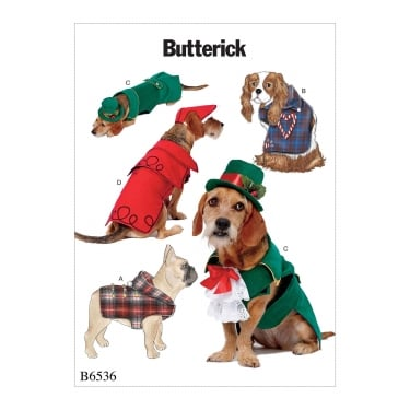 Butterick Sewing Pattern 6536 One Size