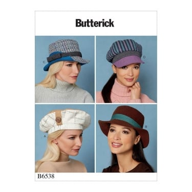 Butterick Sewing Pattern 6538 One Size