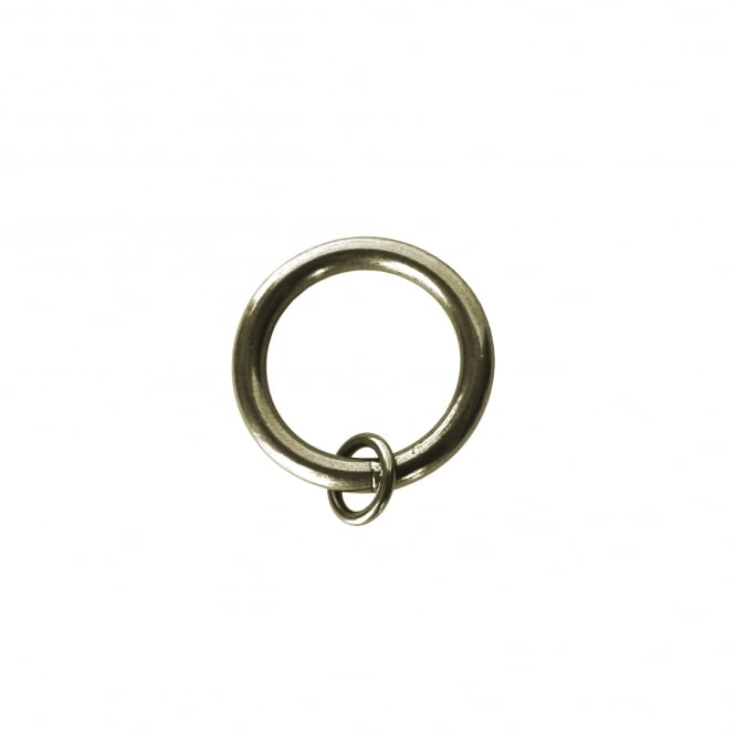C&H 25mm Rustic Brass Toned Unlined O Rings