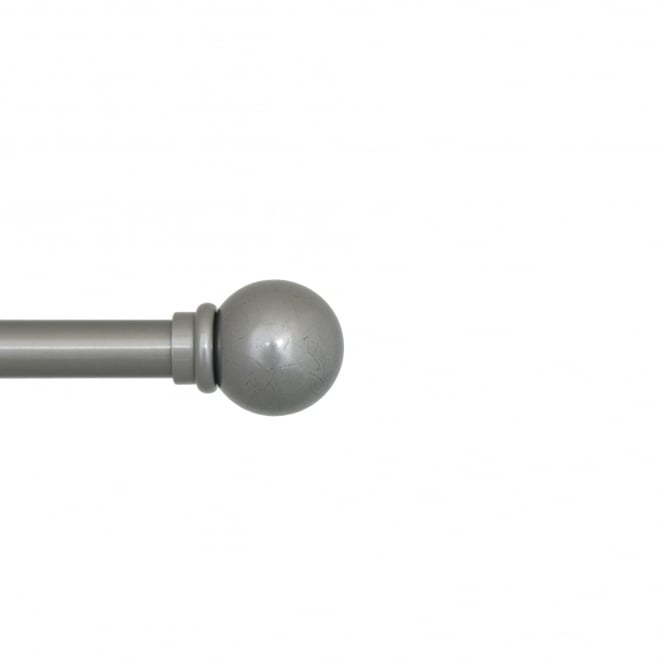 C&H 25mm Rustic Pewter Ball Finial