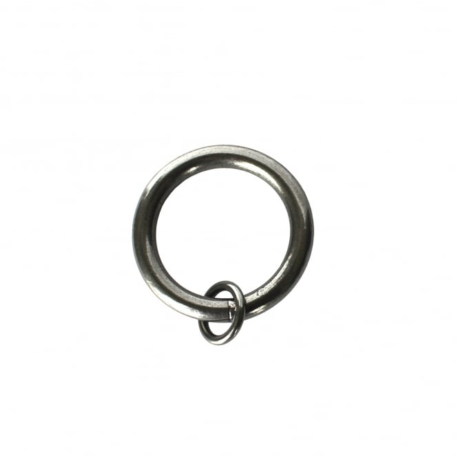 C&H 25mm Rustic Pewter Unlined O Rings