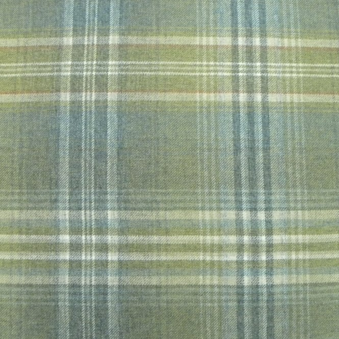 Chess Designs Balmoral Pasture Wool Check Fabric