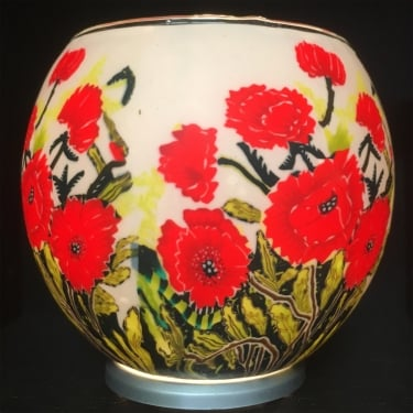 Classic Poppies Tealight Holder