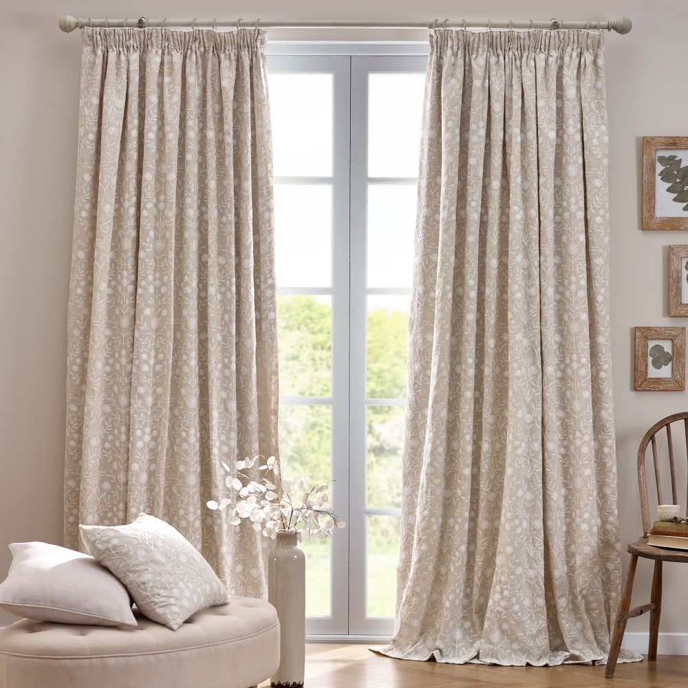 Floral Patterned Curtains Home Design