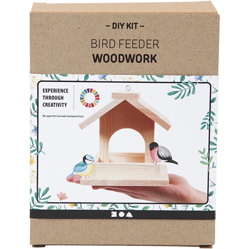 Bird Feeder Table Woodwork Kit | Closs & Hamblin