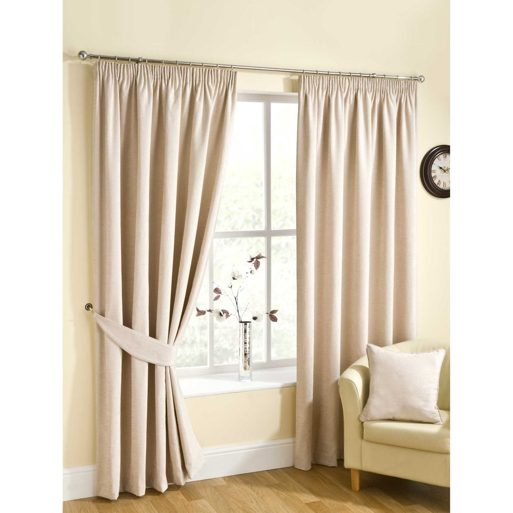 Rico Natural Ready Made Curtains Cream Closs Amp Hamblin