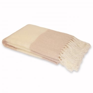 Cotswold Blush Throw - 127x180cm