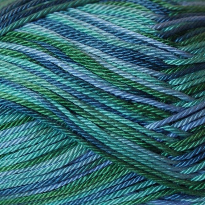 Sirdar Cotton Prints DK 100gm 357 Sea Glass