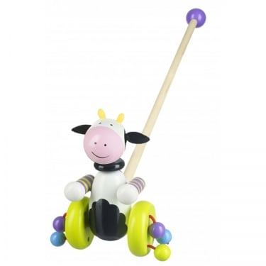 Cow Push Along Toy