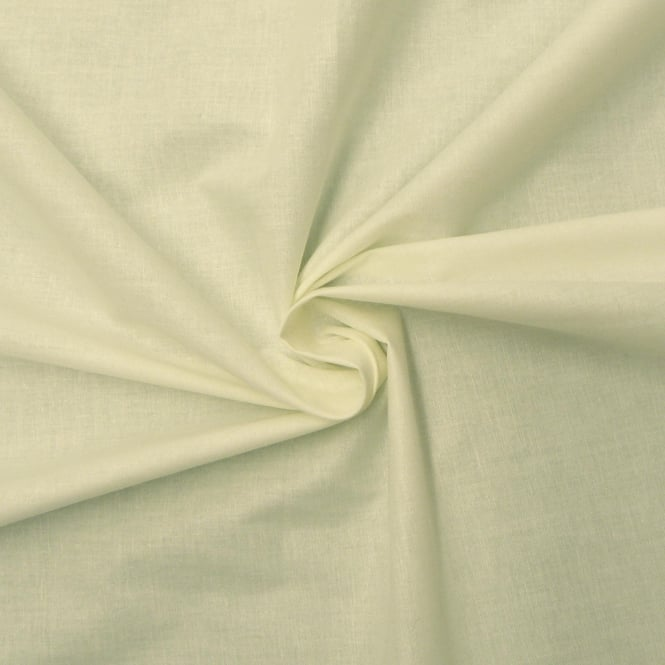 Cream Pure Cotton Sheeting