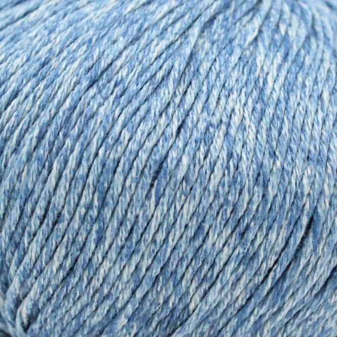 Debbie Bliss Cotton Denim DK 100g Knitting Yarn - True Blue (3)