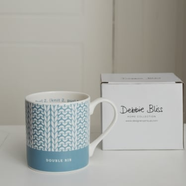 Debbie Bliss Mug Double Rib Duck Egg