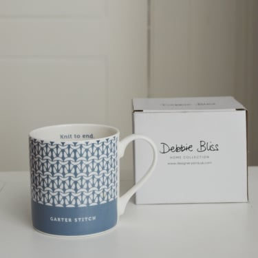 Debbie Bliss Mug Garter Stitch Denim