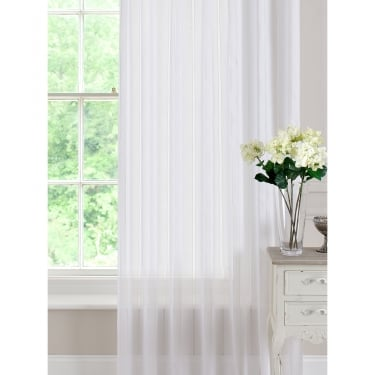 Denby White Voile Panel - 140 x 120cm