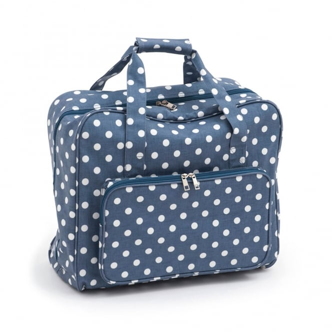 Denim Spot Sewing Machine Bag