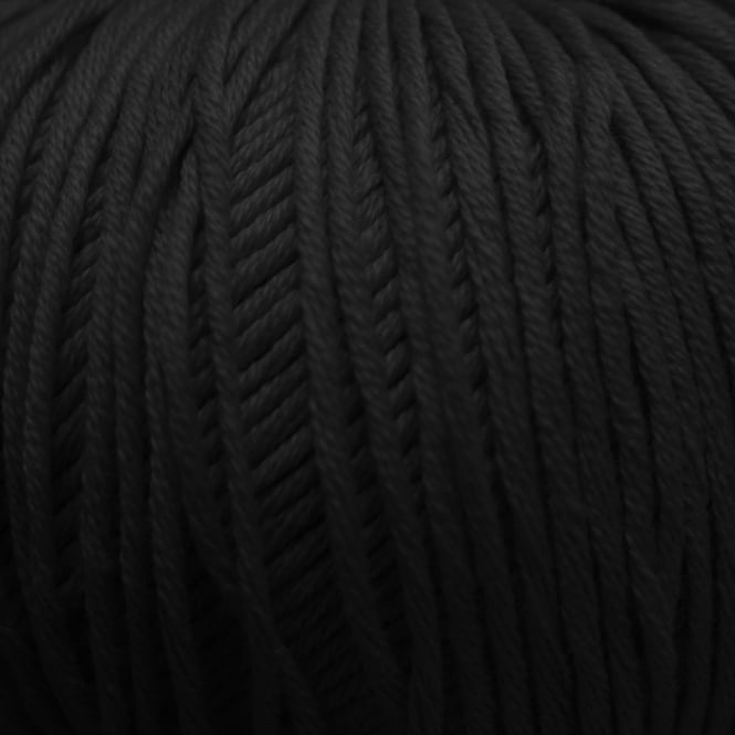 DMC Natura Just Cotton 50g Crochet Yarn - Noir (N11)