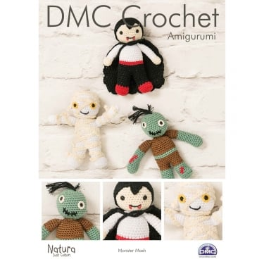 DMC Natura Monster Mash Crochet Leaflet