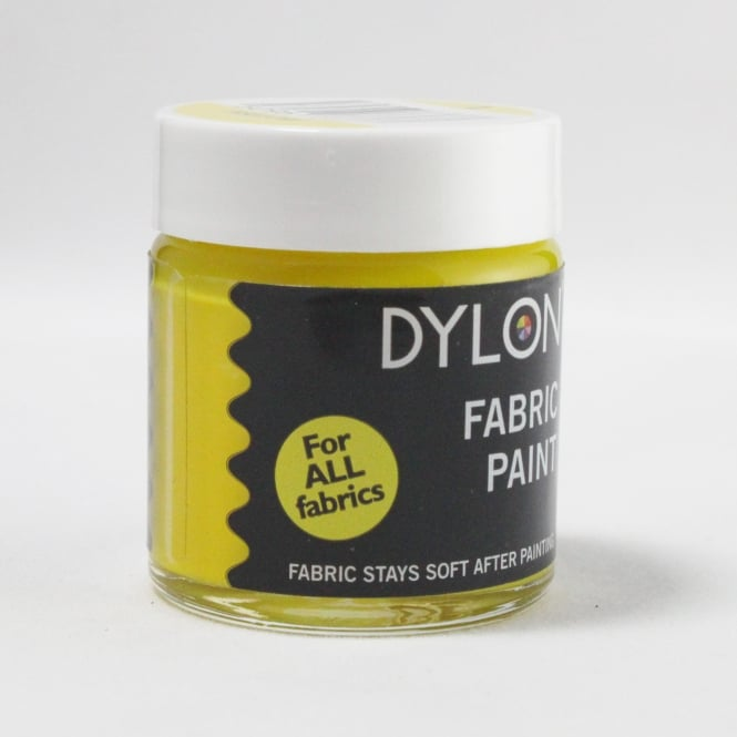 Dylon Fabric Paint - Yellow (01)