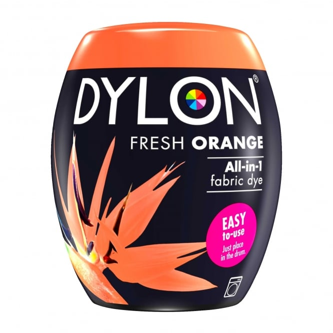 Dylon Machine Dye Pod Fresh Orange