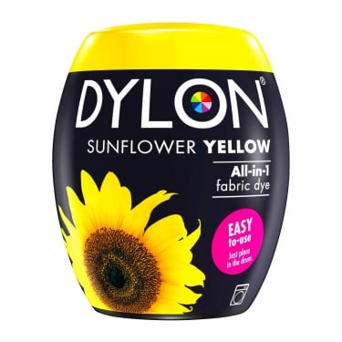 Dylon Machine Dye Pod Sunflower Yellow