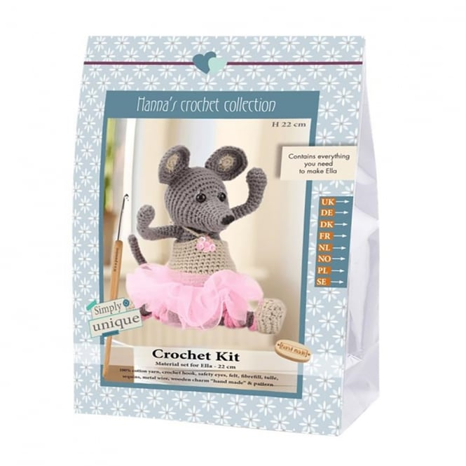 Ella Mouse Crochet Kit