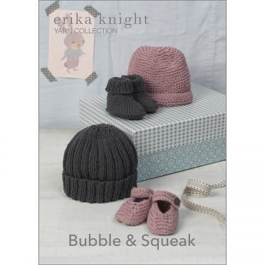 Erika Knight Gossypium Knitting Pattern Bubble & Squeak (040)