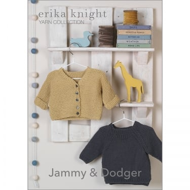 Erika Knight Gossypium Knitting Pattern Jammy & Dodger (041)