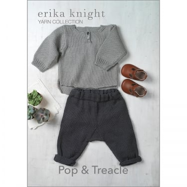 Erika Knight Gossypium Knitting Pattern Pop & Treacle (042)