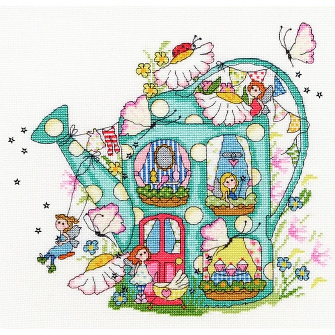 Fairy Watering Can Stitch Kit