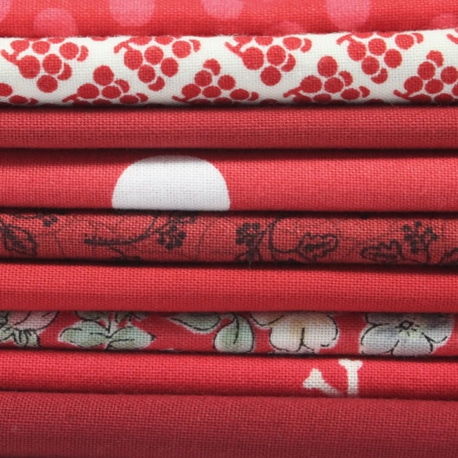 Fat Quarter Bundle - Red