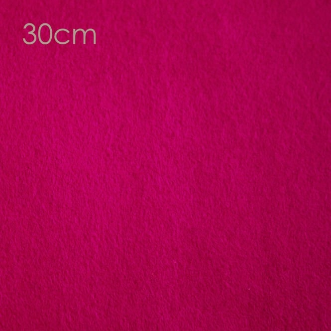 Closs & Hamblin Felt Square 30cm Cerise