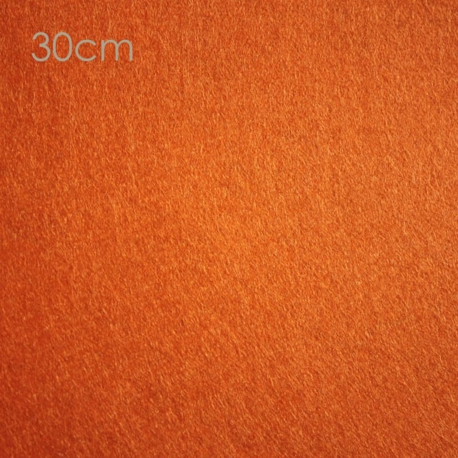 Closs & Hamblin Felt Square 30cm Jaffa