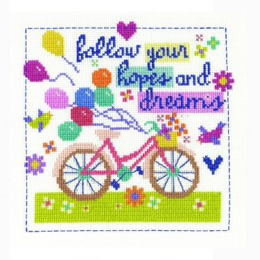 Follow Your Hopes & Dreams Stitch Kit