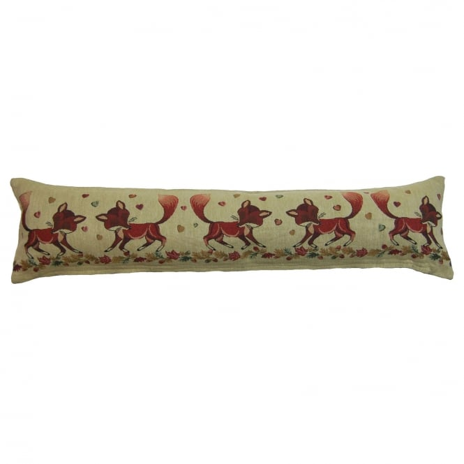Foxes Tapestry Draught Excluder