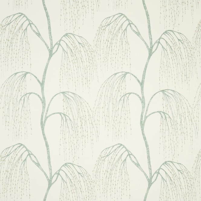 Harlequin HAI02546 Willow Aqua Gold and White